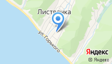 Байкалика на карте