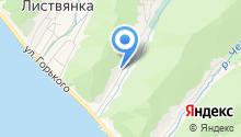 Байкальские просторы на карте