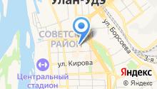Сеть салонов связи на карте
