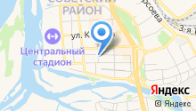 Советский районный суд г. Улан-Удэ на карте