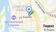Мировые судьи Советского района г. Улан-Удэ на карте