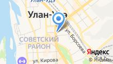 Центр восточной медицины, ГАУЗ на карте