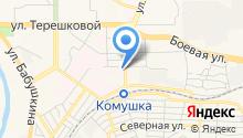 Улан-Удэнская городская станция по борьбе с болезнями животных, БУ на карте