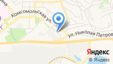 Николаевский на карте