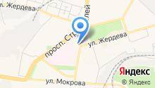 Hello на карте