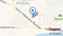 Ремонтный участок Черновского района на карте