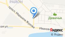 Центр автострахования на карте