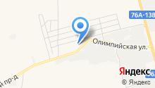 Автолиния на карте