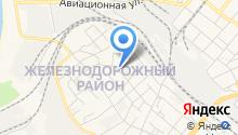 Автостоянка на ул. Ватутина на карте