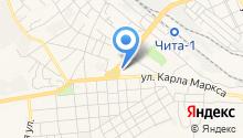 Коллегия адвокатов Забайкальского края на карте