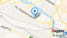 Автоскорая на карте