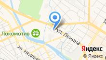 Администрация муниципального Читинского района на карте