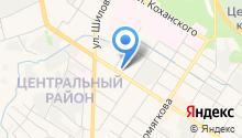 Автостоянка на Новобульварной на карте