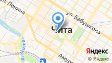 Администрация городского округа г. Чита на карте