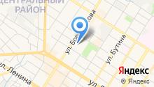 Автомойка на ул. Богомягкова на карте