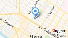Exmail-Чита на карте