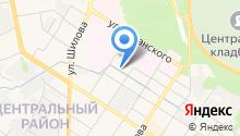 Автомойка на ул. Кочеткова на карте