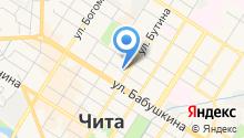 Аварийно-техническая служба Ингодинского района на карте