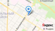АЗС КОРС на карте