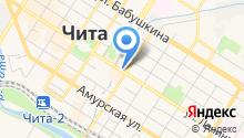 Управление ФСБ России по Забайкальскому краю на карте