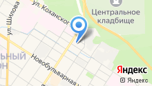 IRBIS на карте