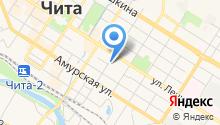 Подорожник на карте