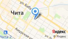 Водоканал-Чита на карте
