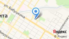 Центр обеспечения деятельности в области гражданской обороны и пожарной безопасности Забайкальского края на карте