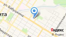 Противопожарная служба Забайкальского края на карте