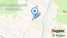 СТО на Казачьей на карте