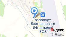 Музей гражданской авиации Амурской области на карте