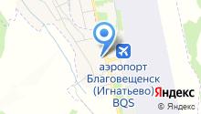 Аэробус на карте