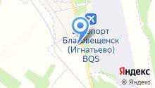 Благовещенское линейное отделение полиции на карте
