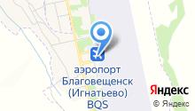 Амурчанка на карте
