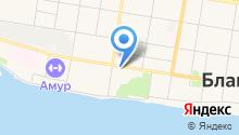 Амурлазер на карте