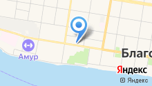Авиатраст на карте