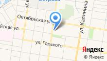 MasterCar на карте
