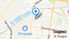 Автомойка на Заводской на карте