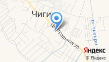 Почтовое отделение №675520 на карте