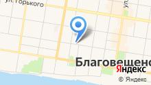 Aravia professional на карте