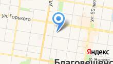 АмК на карте