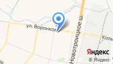 Абрикос ДВ на карте