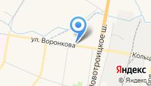 АвтоБЛАГА на карте