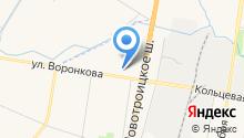 T-max на карте
