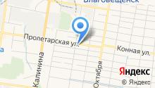 ON HYBRID service на карте
