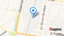 SeverLine на карте