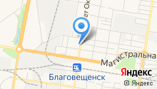 AmurCar на карте