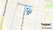 Городской сервисно-торговый комплекс на карте