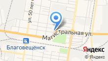 Автоазия на карте