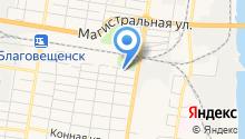 Компания по аренде крана-манипулятора и экскаватора на карте